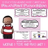 EL Education Kindergarten Module 1, Unit 1 Powerpoint
