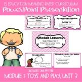 EL Education Kindergarten Module 1, Unit 3 Powerpoint