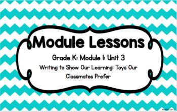 EL Kindergarten Module 1, Unit 3 Powerpoint