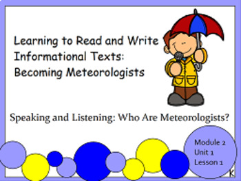 EL Education Kindergarten Module 2, Unit 1 FLIPCHARTS!!!