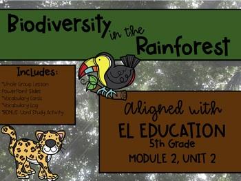 EL Education MODULE 2, UNIT 2 BUNDLE (Lesson Slides, Vocab Cards, Vocab Log)
