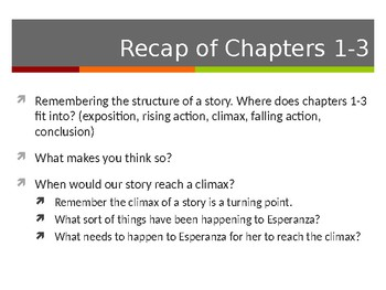 EL Education, Module 1, Unit 1, Lesson 10. Grade 5. Esperanza Rising