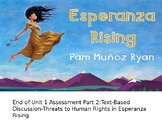 EL Education, Module 1, Unit 1, Lesson 12. Grade 5. Esperanza Rising