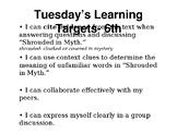EL Education Module 1 Unit 1 Lesson 2 Grade 6- The Lightning Thief