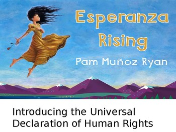 EL Education, Module 1, Unit 1, Lesson 4. Grade 5. Esperanza Rising