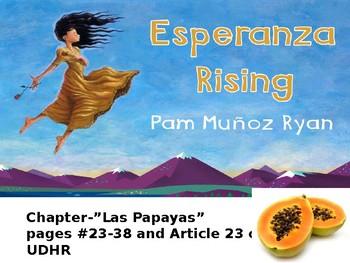 EL Education, Module 1, Unit 1, Lesson 5. Grade 5. Esperanza Rising