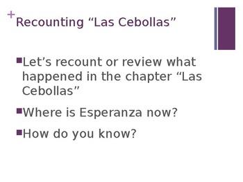 EL Education, Module 1, Unit 2, Lesson 1. Grade 5. Esperanza Rising