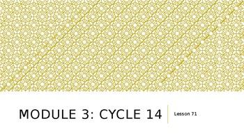 EL Education Module 3: Cycle 14