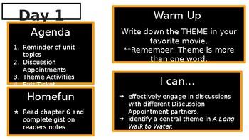 EL Education Seventh Grade Module 1, Unit 2 Powerpoint (A Long Walk to Water)