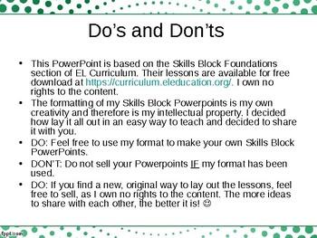 EL Education- Skills Block - Module 1, Cycle 1