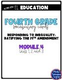 EL Education Vocabulary Cards - Grade 4 - Module 4