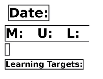 EL Expeditionary Learning Whiteboard Protocol