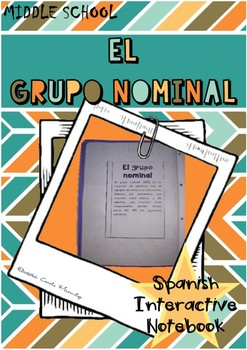 EL GRUPO NOMINAL / The nominal group in Spanish