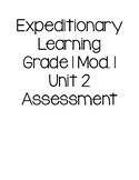 EL Grade 1 Module 1 Unit 2 Assessment