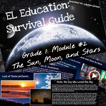 EL Education Grade 1: Module 2: The Sun, Moon, and Stars