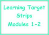 EL Kindergarten Learning Target Strips