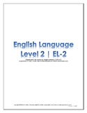 EL Level 2 Lessons Packet (CEFR A2)
