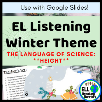EL Listening Winter Theme | The Language of Science, *Height* | DIGITAL