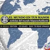 EL MUNDO EN TUS MANOS: News summaries for Spanish students 2018-2019 *BI-WEEKLY