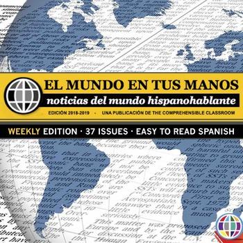 EL MUNDO EN TUS MANOS: News summaries for Spanish students 2018-2019 *WEEKLY