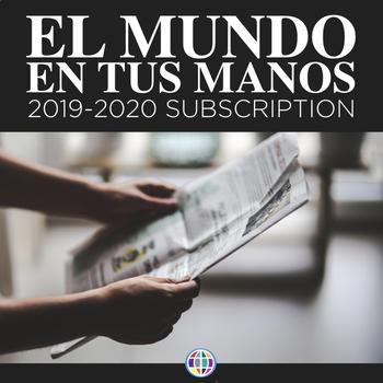 EL MUNDO EN TUS MANOS: News summaries for Spanish students 2019-2020 *PRE-ORDER*