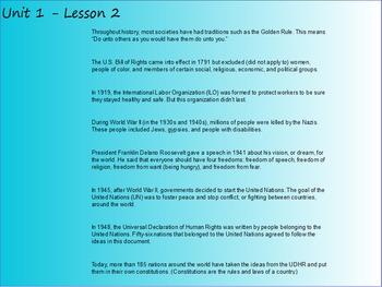 EL Module 1 Unit 1 Lesson 2