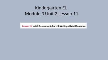 EL Module 3 Unit 2 Lesson 11