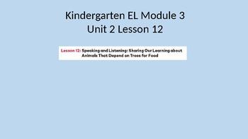 EL Module 3 Unit 2 Lesson 12