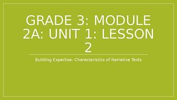 EL Modules 3rd Grade Module 2A Lesson 2