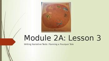 EL Modules 3rd Grade Module 2A Lesson 3