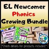 EL Newcomer Phonics Bundle, Growing Bundle!