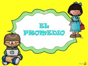 EL PROMEDIO, LA MODA Y LA MEDIANA