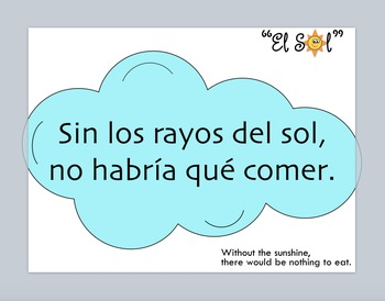 El SOL Bundle Cancion MP3 y actividades Español. The Sun, song Spanish.