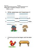 EL Skills Block Assessment Module 1 Cycle 2 lesson 10-15
