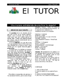 EL TUTOR 150102 Articles in Spanish