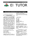 EL TUTOR 300102 Articles in Spanish