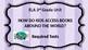 ELA Unit 3rd grade HOW DO CHILDREN ACCESS BOOKS?