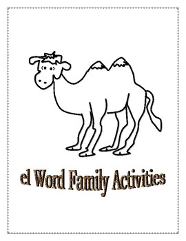 EL WORD FAMILY ACTIVITIES