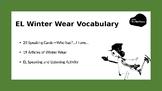 EL Winter Wear Speaking Cards