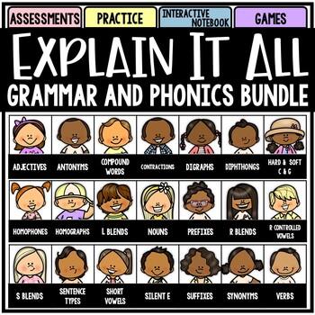 Explain It All: Grammar and Phonics ELA Bundle
