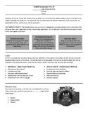 ELA 20 Yearlong Plan Sample - Editable