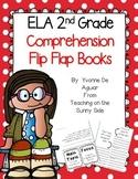 ELA 2nd Grade Comprehension Flip Flap Books