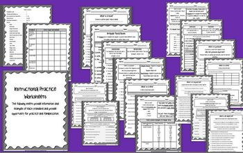 ELA Common Core Assessment Packet - Third Grade - Parts of