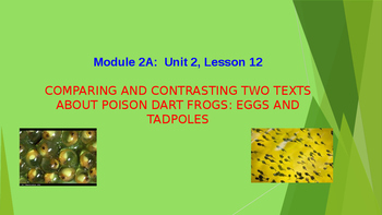 ELA 3rd Grade Module 2A Unit 2 Lesson 12