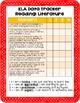 ELA 4th Grade Student Data Tracker: Reading Literature *EDITABLE*