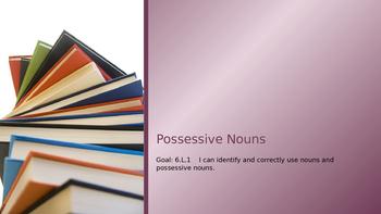 ELA-6.L.1 Possessive Nouns
