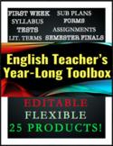 ELA 9-10 Essentials Kit: Syllabus, Sub Plans, Rubrics, Fin