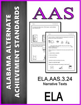 ELA.AAS.3.24 Compose Narrative Texts Alabama Alternate Achievement Standard