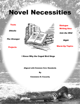 Literature and Writing Assessments:Novel Necessities