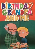 ELA Activities for book, Birthday Grandpa and Me by Becca